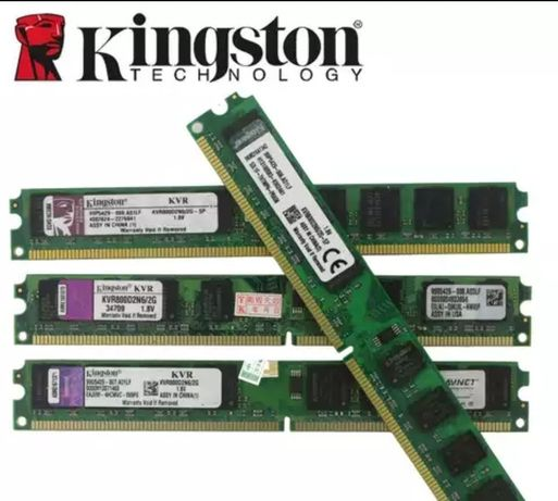 Модуль, оперативная память Kingston DDR2-2Gb 800mhz
