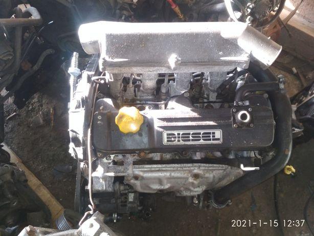 Двигун мотор , двигатель Опель Астра Комбо Корса 1,7 турбодизель ISUZU