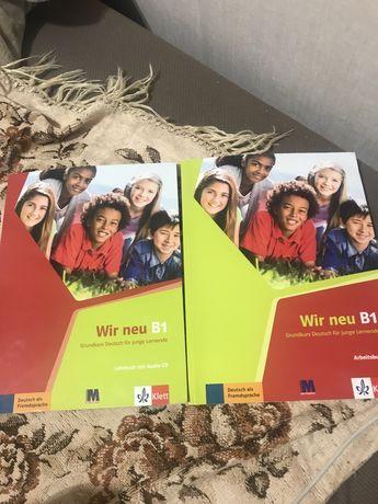 Wir Lehrbuch b1 підручник німецька мова
