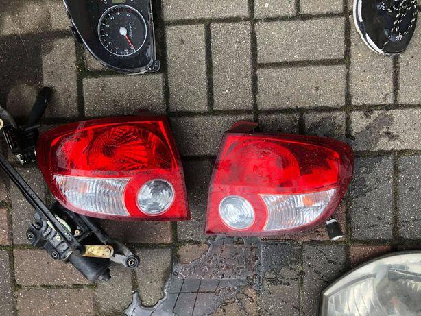 Hyundai Getz Lampy tylne KOmpletne Lampa tylna Lewa Prawa Tył Lewy PR