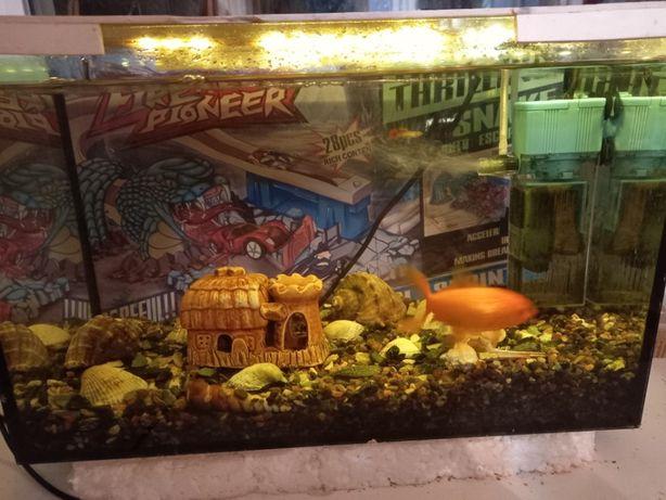 Продам акваріум на 20л