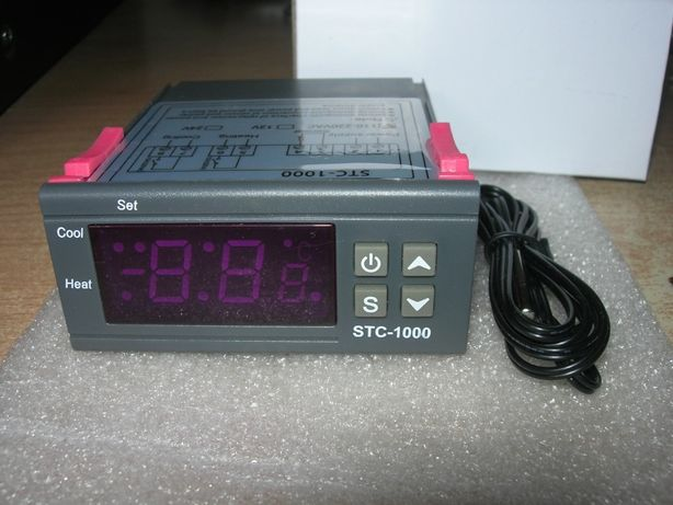 Терморегулятор инкубатор STC-1000 220В. термореле. Термостат.