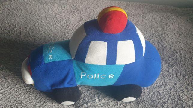 Poduszka ozdobna do pokoju dziecięcego auto,samochód policyja