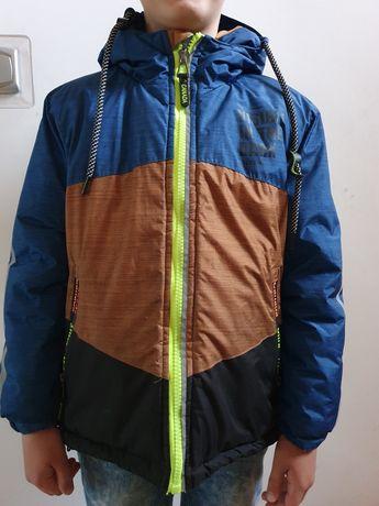 Kurtka zimowa dla chłopca waterproof 134