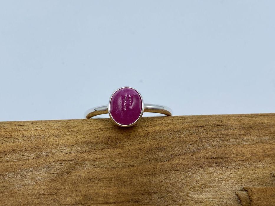 Кольцо с натуральным рубином серебро 925 рубин Киев - изображение 1
