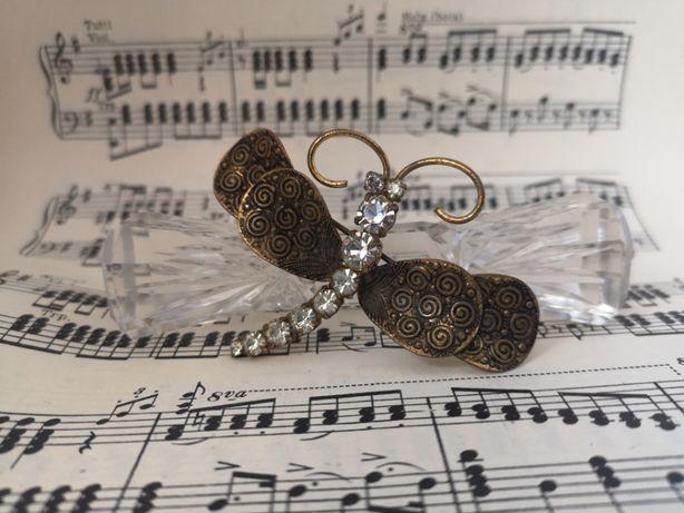Biżuteria Vintage Broszki pierscionki