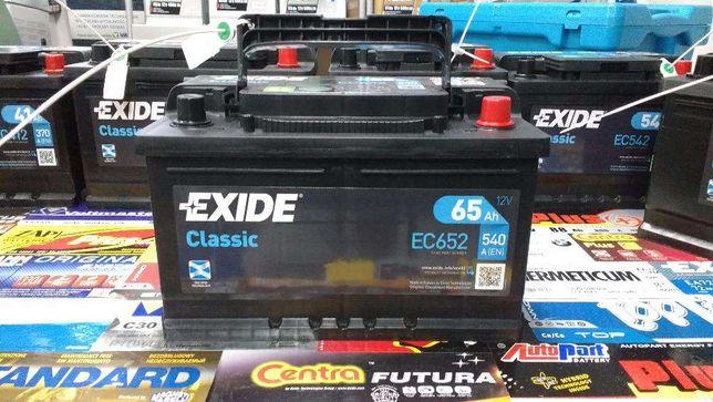 Akumulator Exide Classic EC652 65Ah 540A P+ Kraków CC652
