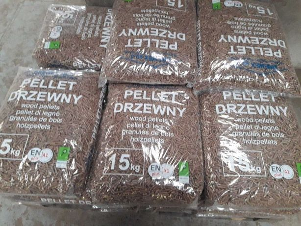 Pellet z drewna Drewex 6 A1 EN Plus