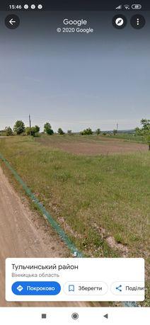 Земельна ділянка 16 соток м. Тульчин