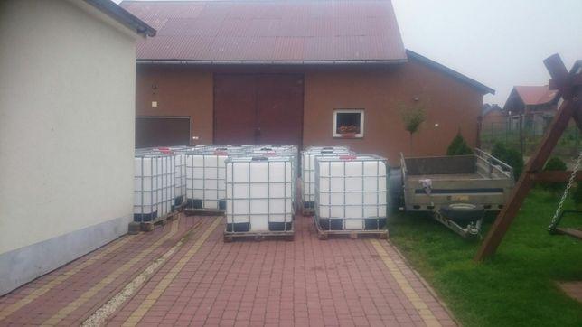 Zbiornik, mauzer 1000 L czysty Tomaszowice i Wieliczka