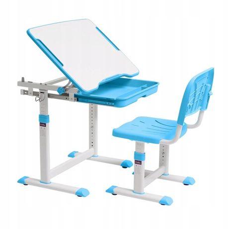 Biurko i krzesełko regulowane dziecięce Cubby Sorpresa Blue Kraków
