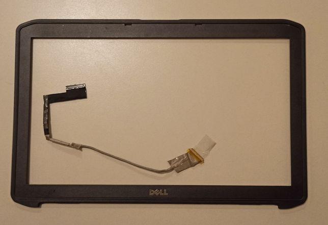 Ramka matrycy+taśma Dell e5530