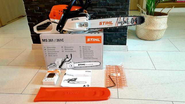 Piła spalinowa STIHL MS 261 MS261 4.1KM Nowiutka