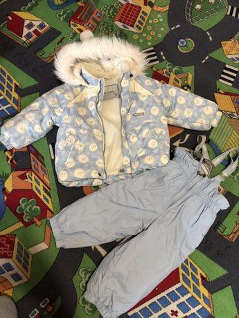 Зимний костюм комплект полукомбинезон и курточка lenne lassie Reima