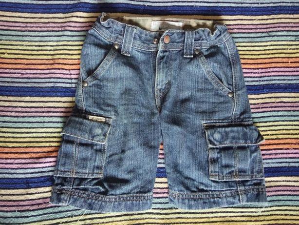 Джинсовые шорты на мальчика, 4-6 лет