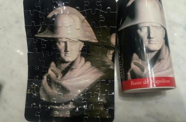 Puzzle z popiersiem Napoleona