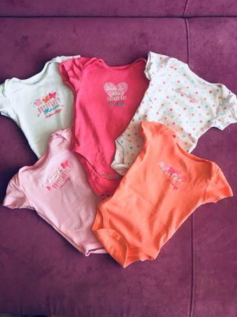 Продам бодики, футболки cool club для новорожденных 62р