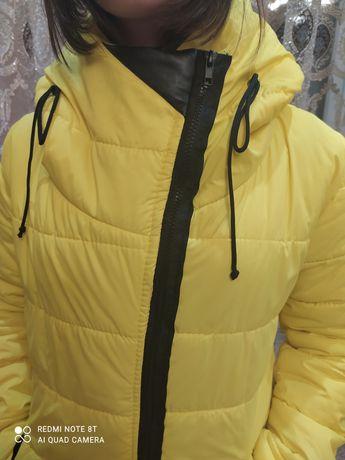 Куртка- пальто  на подростка