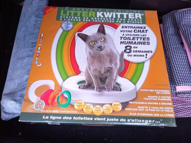 Casa de banho para gatos para meter na sanita