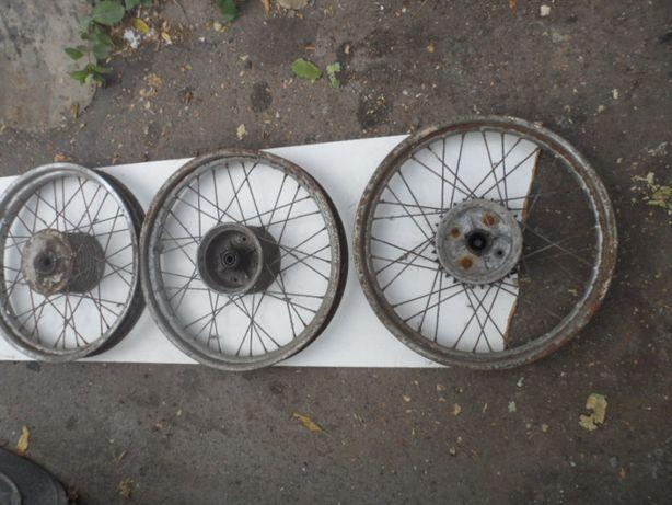 Колеса от мотоцикла минск или иж или мт по 100гр