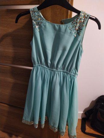 Sukienka dziewczynka 7lat