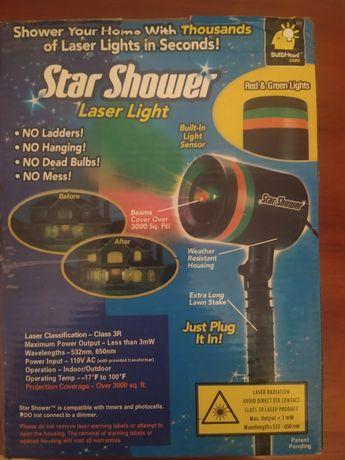 Лазерный проектор-гирлянда