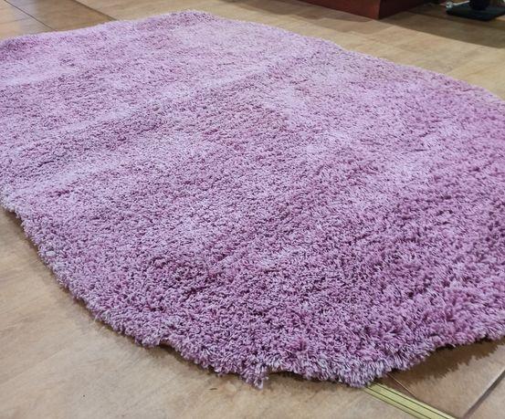 Продам ворсистий килим + тюль