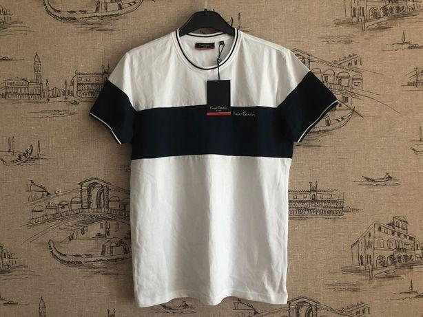 Новая фирменная мужская футболка Pierre Cardin, размер S