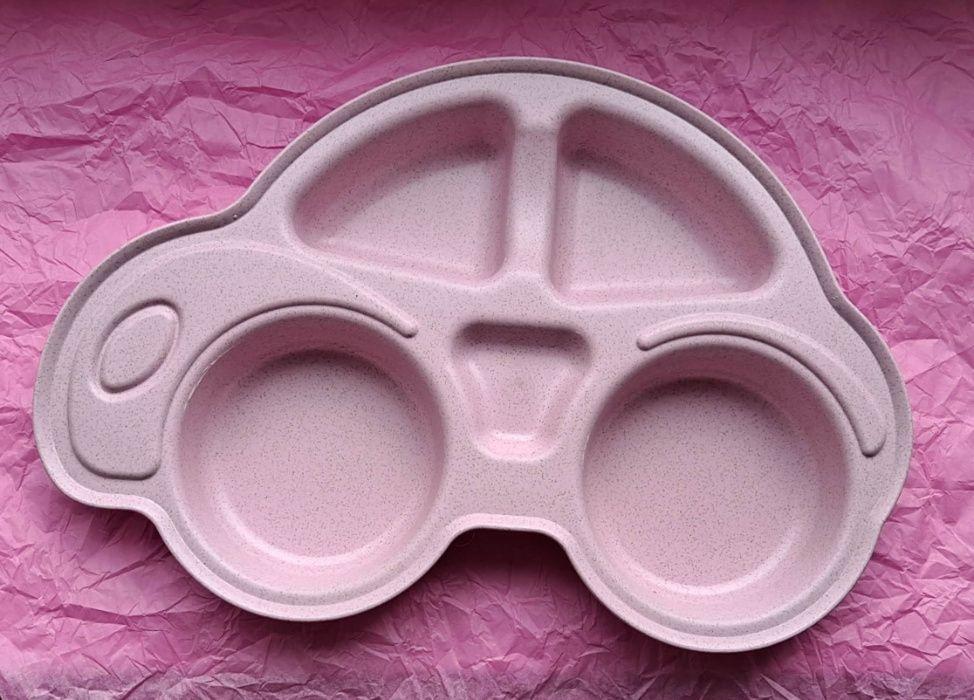 Miseczka samochodzik różowy Grabin - image 1
