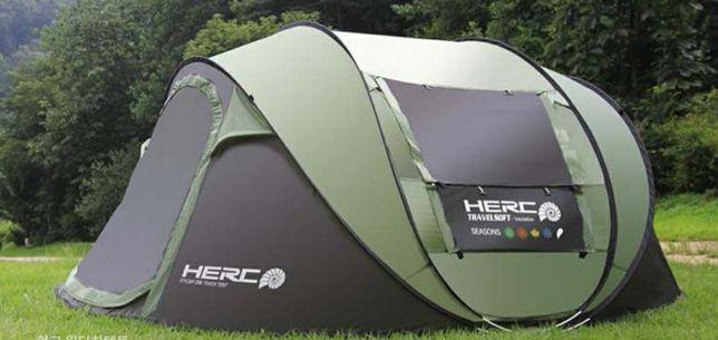 Палатка туристическая 4-местная быстросборная HERC 4XL (Корея)
