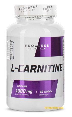 Жиросжигатель L-carnitine 1000mg Progress Nutrition (30 tab)