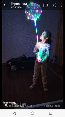 Светящиеся Шарики LED шары 45-70см оптом