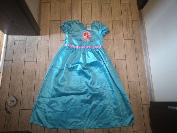 Sukienka Arielki Arielka Disney rozm.7-8 lat(122-128cm)