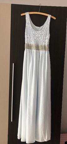 Długa sukienka maxi
