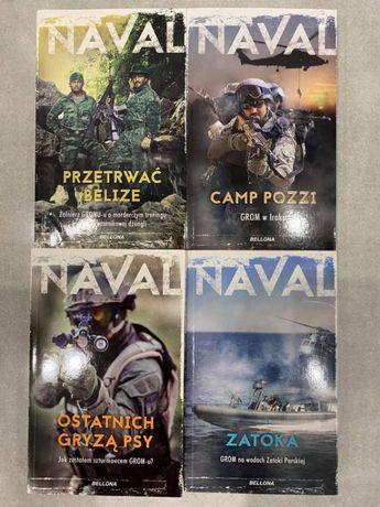 Seria książek NAVAL wszytskie 4 części