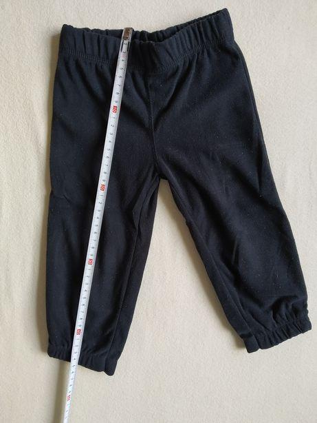 Spodnie dresowe dla chłopca rozm 92 Carter's