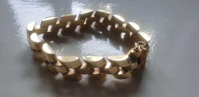 Złota bransoleta 585 35,82g!