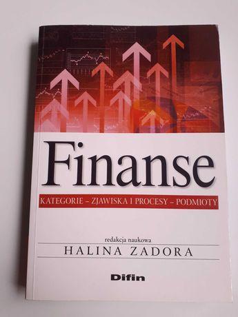 """Książka """"Finanse"""" red. Halina Zadora, 2015, nowa"""