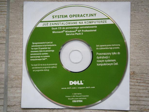 Windows XP Profesjonal DELL 100% ORGINALNY