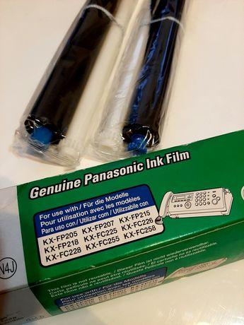 Panasonic kalka folia fax KX FA52X 2 sztuki oryginalne ink film