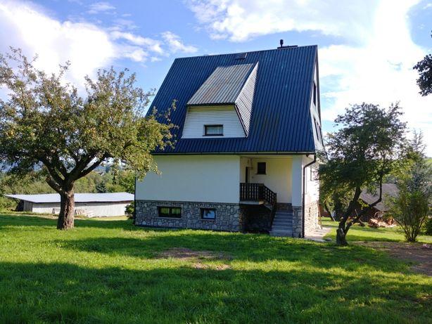 Do sprzedania dom w miejscowości Pisarzowa koło Limanowej