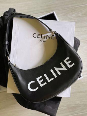 Новая Celine женская кожаная сумка