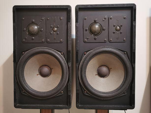 Kolumny Braun L730, L 730, 3-drożne, bass 25cm -stare końcówki Vintage