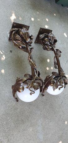 Кованые фонари (светильники) ковка