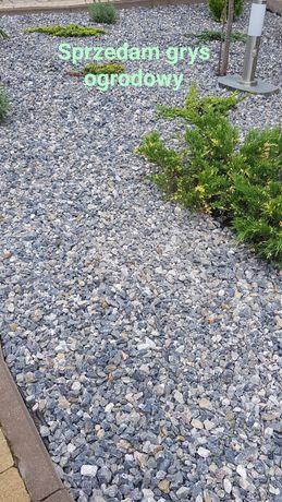 Kamien, grys ogrodowy