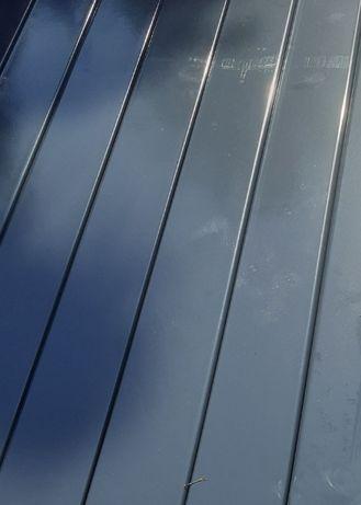 Słupki 60x40 grafit antracyt 2,4 m slupek do paneli ogrodzeniowych