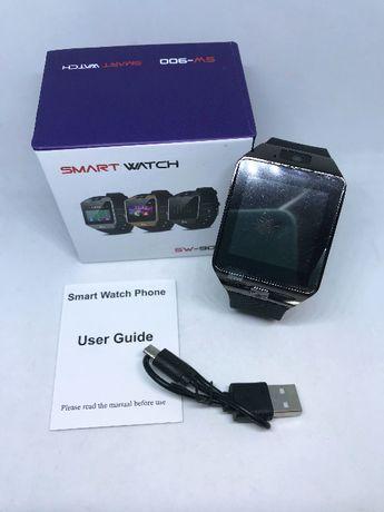 SmartWatch com entrada Cartão SIM / Câmara / Bluetooth /Chamadas/etc.