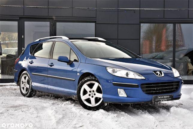 Peugeot 407 Świezy import /Gwarancja/OPŁACONY