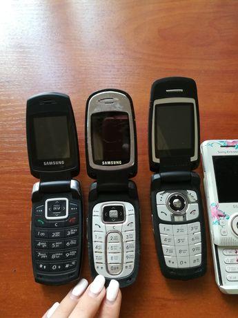 Телефон на запчасти Самсунг Samsung sone Erickson раскладушка ракушка