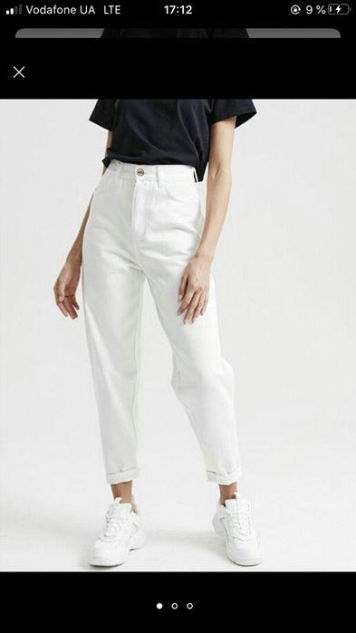 Белые джинсы мом , EASY JEANS Киев - изображение 1